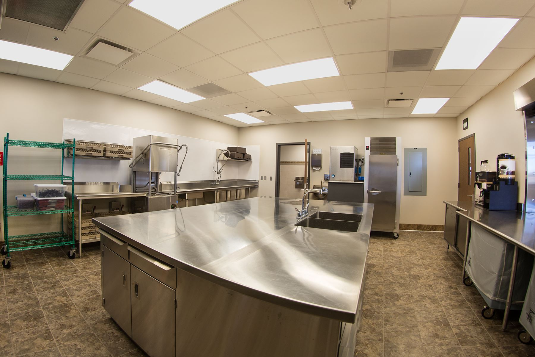 Different Angle of Kitchen of Stastny Community Center