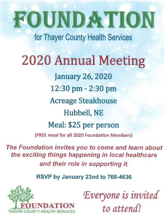 january 26th annual meeting