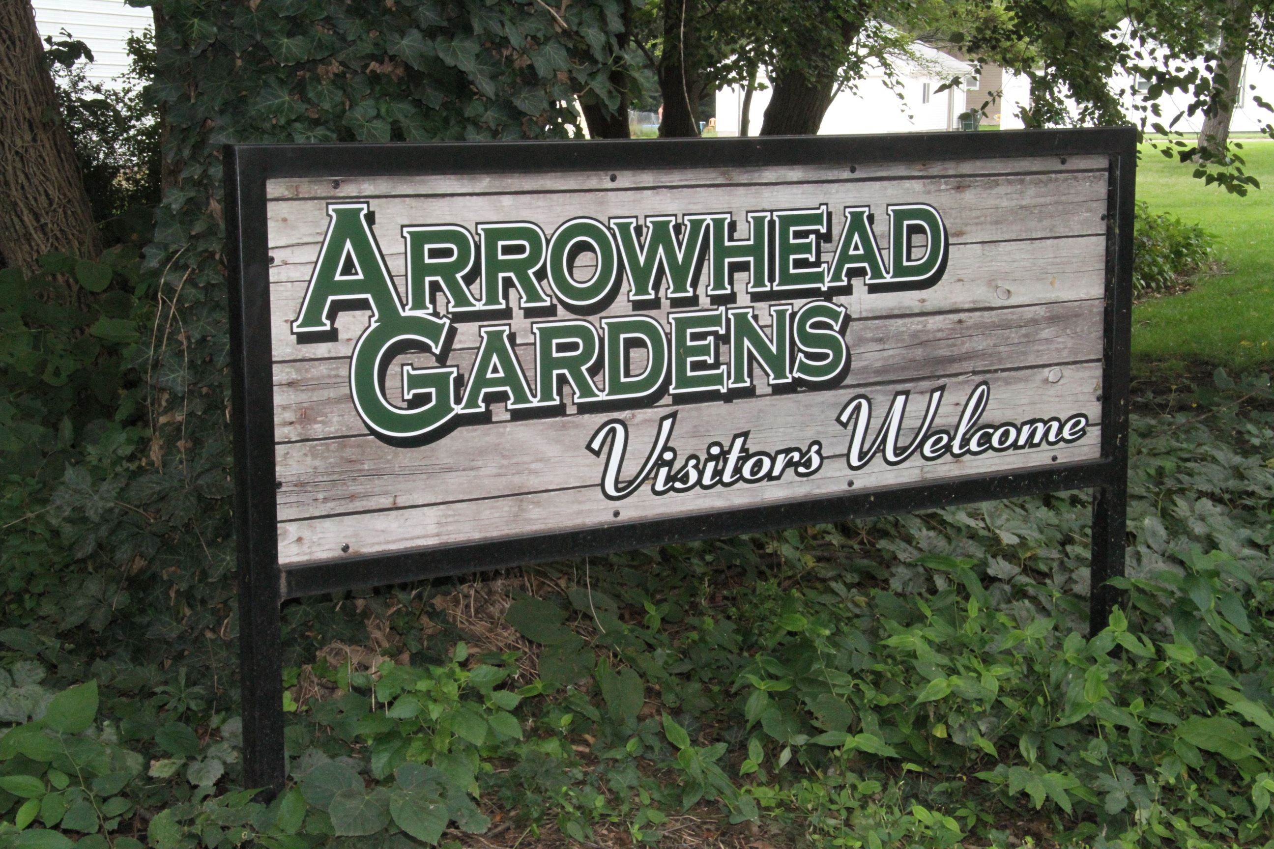 Arrowhead Gardens Sign