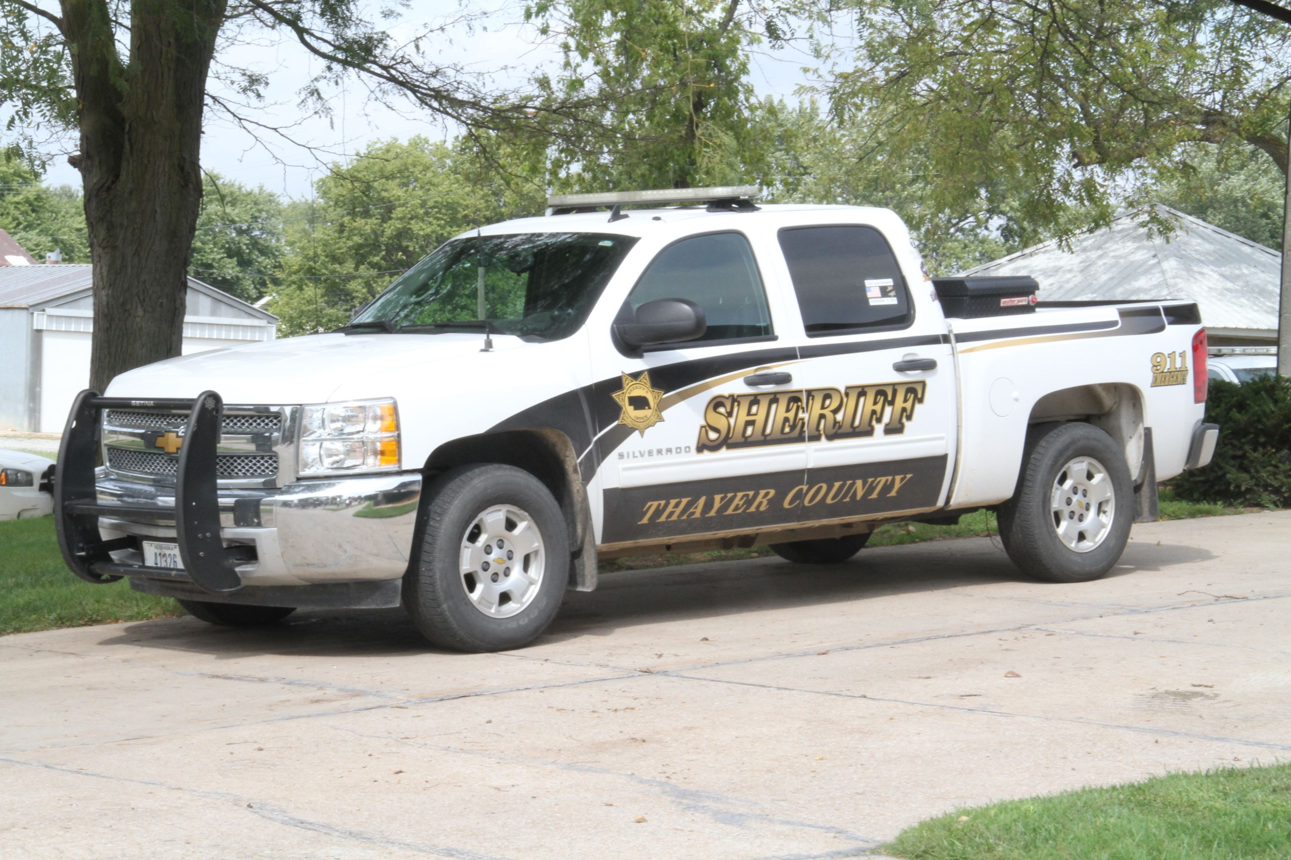 Sheriff, Thayer County Truck