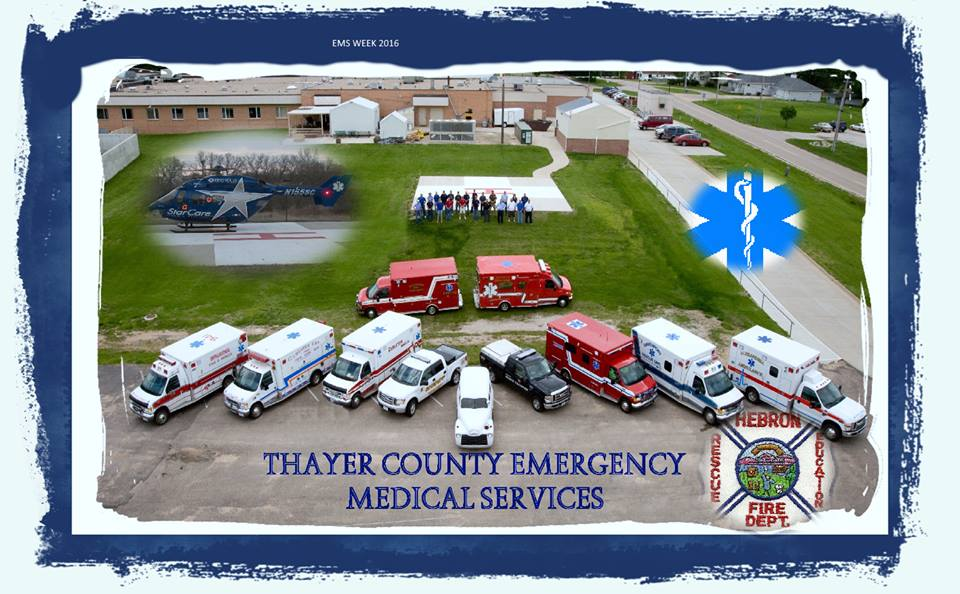 Thayer County Emergency Medical Services Vehicles